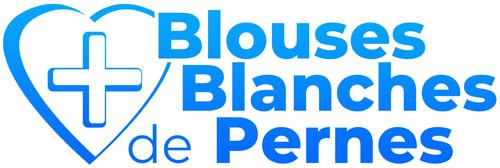 logo du site des blouses blanches de pernes